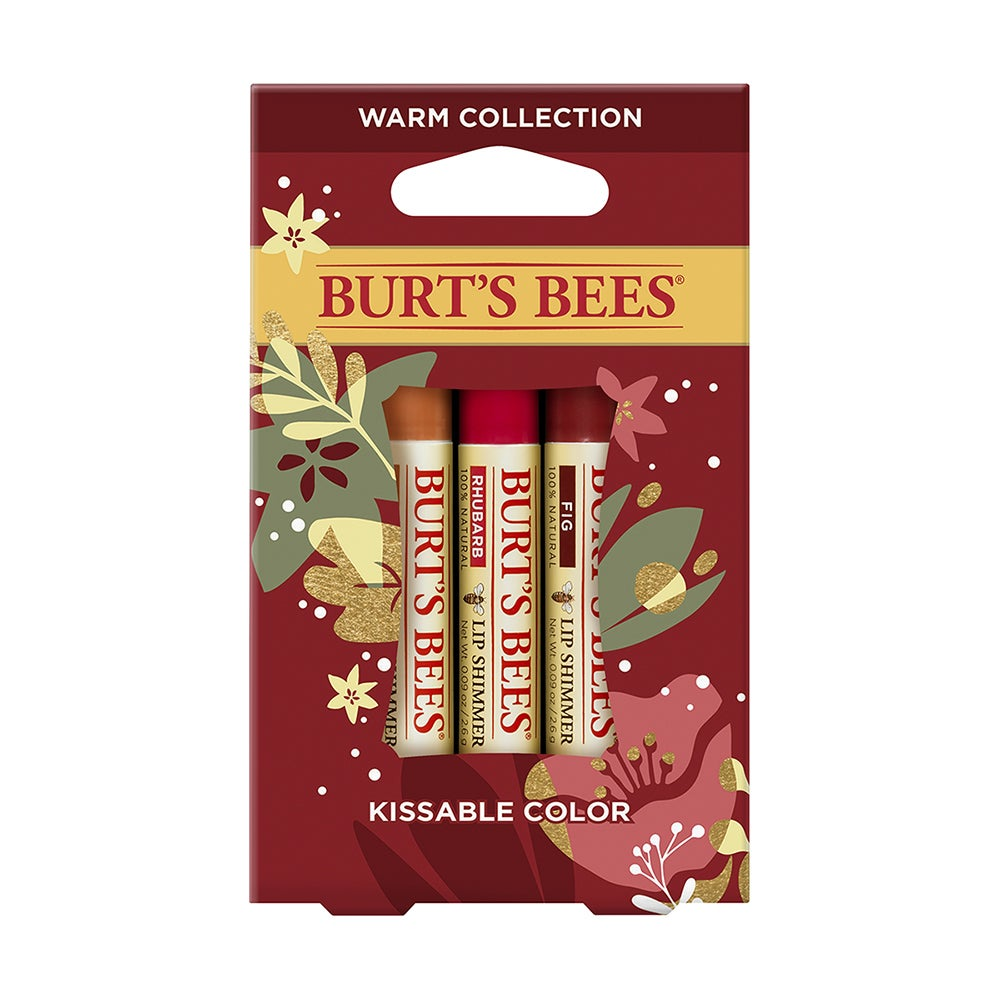 BURT'S BEES KISSABLE COLOR HOLIDAY GIFT WARM COLLECTION
